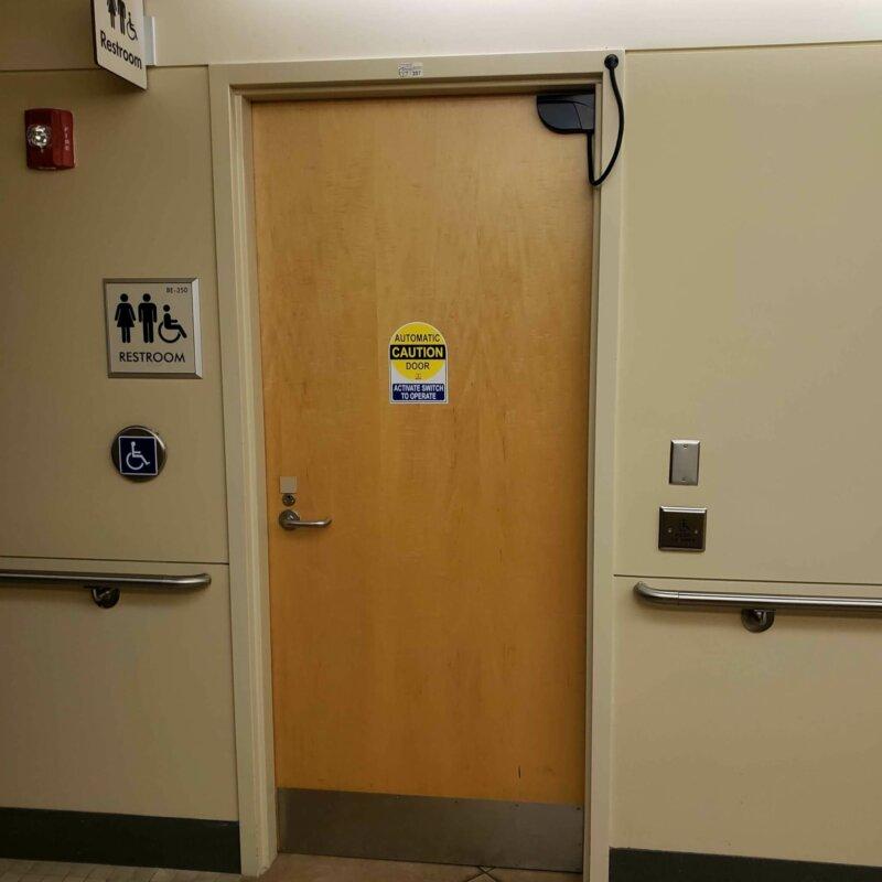 Handicap Low Energy Push Button Door Operator